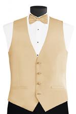 New Men/'s Zelente Canary Light Yellow Satin Fullback Tuxedo Vest /& Tie Set
