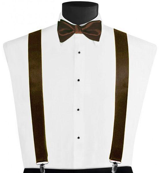 Larr Brio Modern Solid Bronze Suspenders