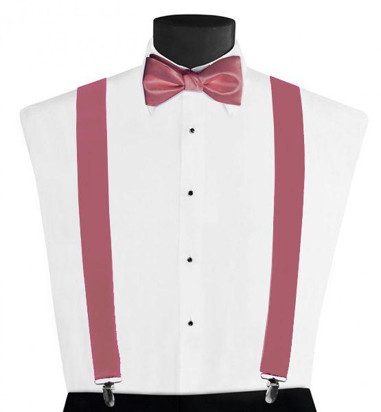 Larr Brio Modern Solid Ballot Suspenders